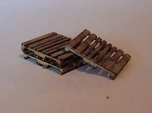 Osborn Model Kits Skids 20pk -- N Scale Model Railroad Building Accessory -- #3016