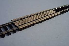 Osborn Level Crossing Boards 4pc N Scale Model Railroad Trackside Accessory #3020