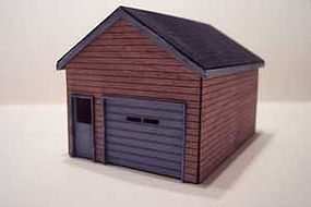 Osborn Garage (wooden kit) N Scale Model Railroad Building Kit #3026