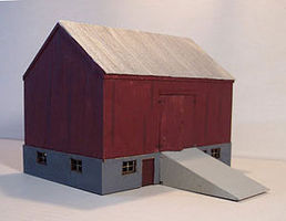 Osborn Barn (wooden kit) N Scale Model Railroad Building Kit #3029