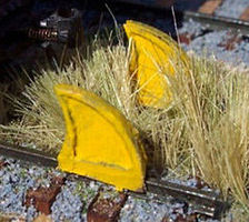Osborn Rail Stops N Scale Model Railroad Trackside Accessory #3038