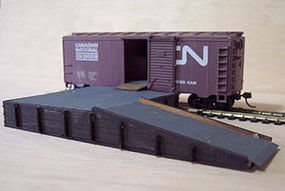 Osborn Loading Platform (wooden kit) N Scale Model Railroad Trackside Accessory #3043