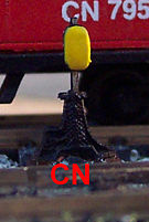 Osborn Model Kits Switch Stands CN Kit -- N Scale Model Railroad Trackside Accessory -- #3059