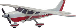 Osborn Model Kits Cessna 172 Kit -- N Scale Model Railroad Vehicle -- #3076