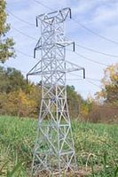Osborn Hydro Towers (wooden kit) N Scale Model Railroad Building Kit #3080