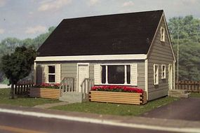 Osborn 2 Bedroom Home N Scale Model Railroad Building Kit #3103