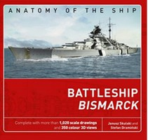 Osprey-Publishing Anatomy of the Ship- Battleship Bismarck (Hardback)