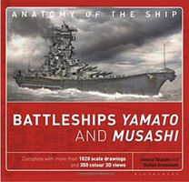 Osprey-Publishing Anatomy of the Ship- Battleships Yamato & Musashi (Hardback)