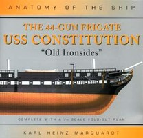 Osprey-Publishing Anatomy of the Ship- 44-Gun Frigate USS Constitution Old Ironsides (Hardback)