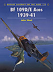 Osprey Publishing Aircraft of the Aces - BF109D/E Messerschmitt Aces 1939-1941 -- Military History Book -- #aa11