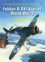 Osprey-Publishing Aircraft of the Aces - Fokker D XXXI Aces of WWII Military History Book #aa112