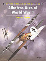 Osprey-Publishing Aircraft of the Aces - Albatros Aces of WWI Military History Book #aa32
