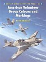 Osprey-Publishing Aircraft of the Aces - American Volunteer Group Colours & Markings Military History Book #aa41