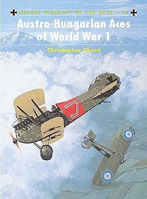 Osprey Publishing Aircraft of the Aces - Austro-Hungarian Aces of WWI -- Military History Book -- #aa46