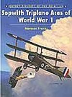 Osprey-Publishing Aircraft of the Aces - Sopwith Triplanes of WWI Military History Book #aa62