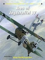 Osprey-Publishing Aircraft of the Aces - Aces of Jagdstaffel 17 Authentic Scale Model Airplane Book #ace118