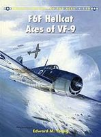 Osprey-Publishing Aircraft of the Aces - F6F Hellcat Aces of VF-9 Military History Book #ace119