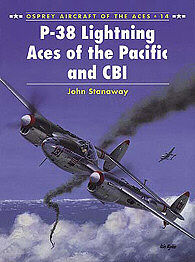 Osprey Publishing P-38 Lightning Aces of the Pacific and CBI -- Military History Book -- #ace14