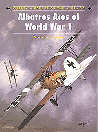 Osprey Publishing Albatros Aces of WWI -- Military History Book -- #ace32