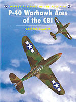 Osprey-Publishing P-40 Warhawk Aces of the CBI Military History Book #ace35