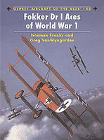 Osprey-Publishing Fokker Dr I Aces of WWI Military History Book #ace40