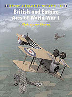 Osprey-Publishing British and Empire Aces of WWI Military History Book #ace45
