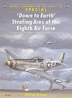 'Down to Earth' Strafing Aces of the 8th Air Force Military History Book #ace51