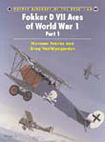 Osprey-Publishing Fokker D VII Aces of WWI Part 1 Military History Book #ace53