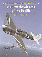 Osprey-Publishing P-40 Warhawk Aces of the Pacific Military History Book #ace55