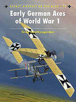 Osprey-Publishing Early German Aces of WWI Military History Book #ace73