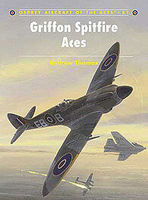 Osprey-Publishing Griffon Spitfire Aces Military History Book #ace81
