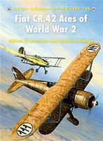 Fiat CR.42 Aces of WWII Military History Book #ace90