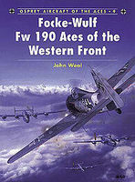 Osprey-Publishing Focke Wulf Fw 190 Aces of the Western Front Military History Book #ace9