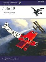 Osprey-Publishing Aviation Elite Jasta 18 Red Noses Military History Book #ae40