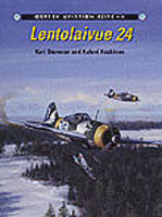 Osprey-Publishing Aviation Elite - Lentolaivue 24 Authentic Scale Model Airplane Book #ae4