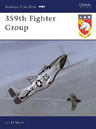 Osprey Publishing 359th Fighter Group -- Military History Book -- #aeu10