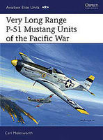 Osprey-Publishing Very Long Range P-51 Mustang Units of the Pacific War Military History Book #aeu21