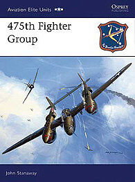 Osprey Publishing 475th Fighter Group -- Military History Book -- #aeu23