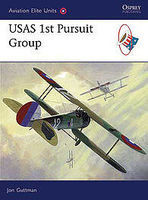Osprey-Publishing USAS 1st Pusuit Group Military History Book #aeu28