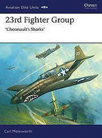 Osprey-Publishing 23rd Fighter Group Chennaults Sharks Military History Book #aeu31