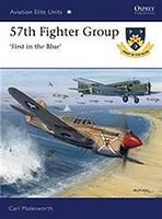 Osprey-Publishing 57th Fighter Group First in the Blue Military History Book #aeu39