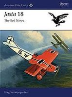 Osprey-Publishing Jasta 18 The Red Noses Military History Book #aeu40