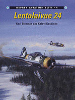 Osprey-Publishing Lentolaivue 24 Military History Book #aeu4