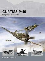 Osprey-Publishing Air Vanguard - Curtiss P40 Long-Nosed Tomahawks Military History Book #av8