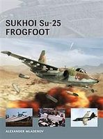 Osprey-Publishing Air Vanguard Sukhoi Su-25 Frogfoot Military History Book #avg9