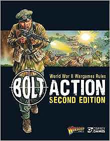 Osprey-Publishing WWII Wargames Rules 2nd Edition Wargaming Book #blt16