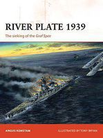 Osprey-Publishing Campaign River Plate 1939 The Sinking of the Graf Spee Military History Book #c171