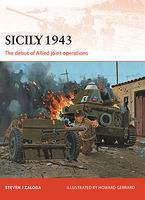 Osprey-Publishing Campaign - Sicily 1943 The Debut of Allied Joint Operations Military History Book #c251