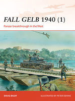 Osprey-Publishing Campaign - Fall Gelb 1940 (1) Army Group A Military History Book #c264