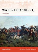 Osprey-Publishing Campaign - Waterloo 1815 (1) Quatre Bras Military History Book #c276